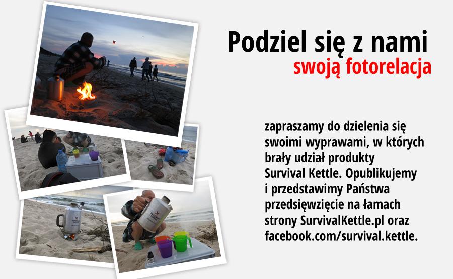 Survival Kettle - kuchenki turystyczne, czajniki turystyczne, oferta specjalna