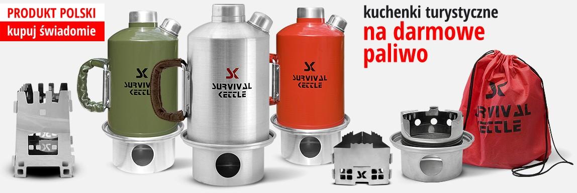 Survival Kettle - kuchenki i czajniki turystyczne